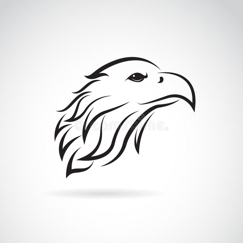 Free Vector Image Of An Eagle Head Royalty Free Stock Images - 56608259