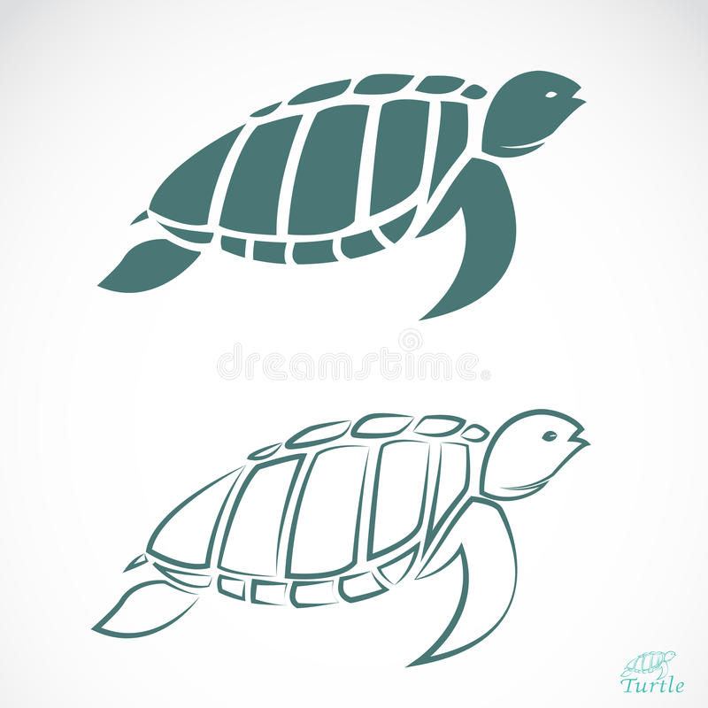 Vector Image Of An Turtle Stock Images
