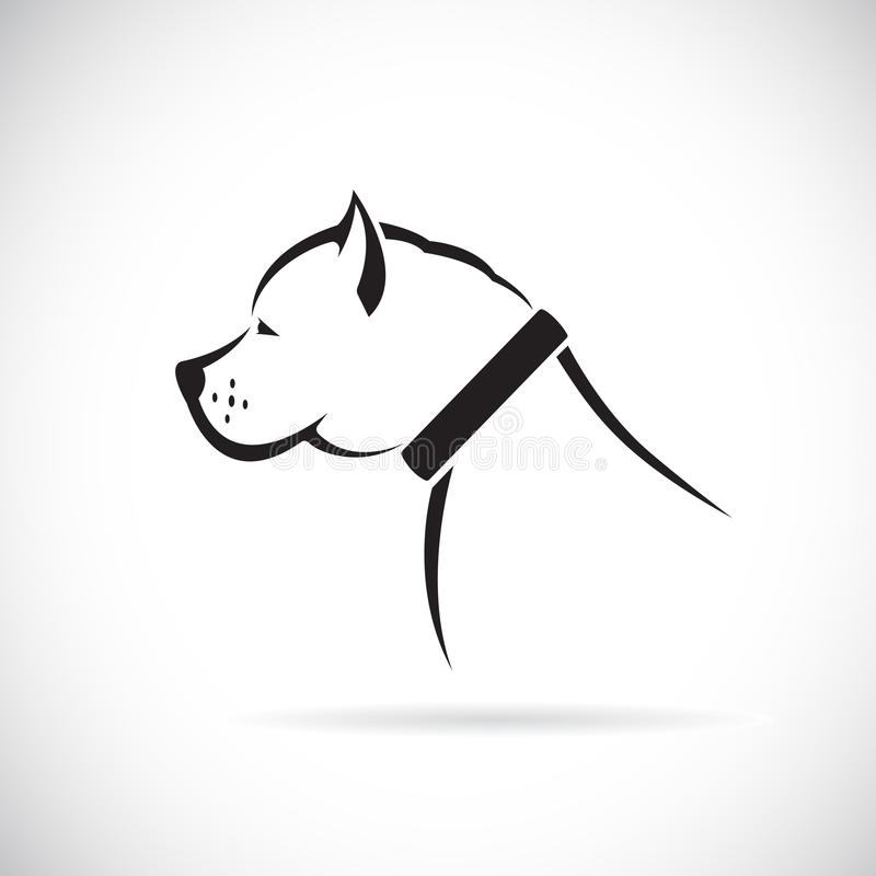 Download Vector Images Of Pitbull Dog Stock Vector - Image: 43273884
