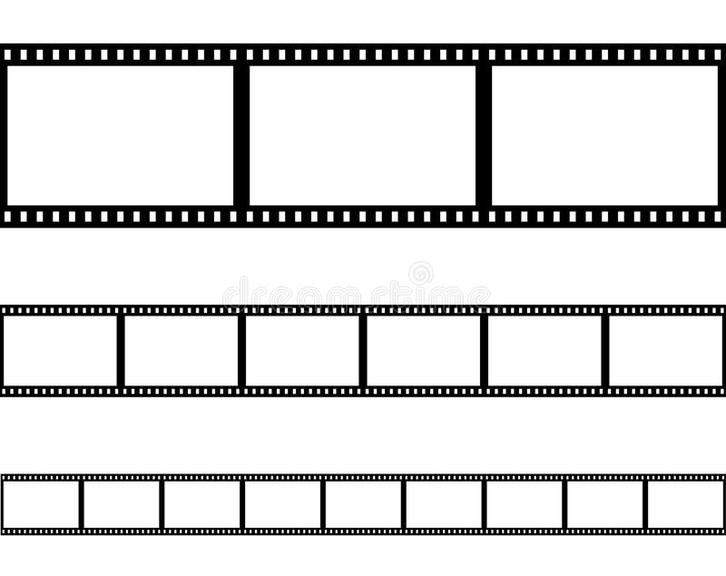 Vector inconsútil de la tira de película de la tira de la película libre illustration