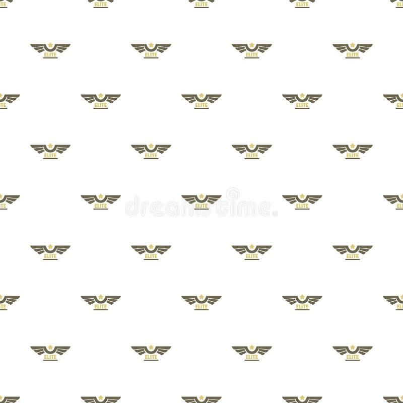 Vector inconsútil del modelo de la fuerza aérea de la élite ilustración del vector