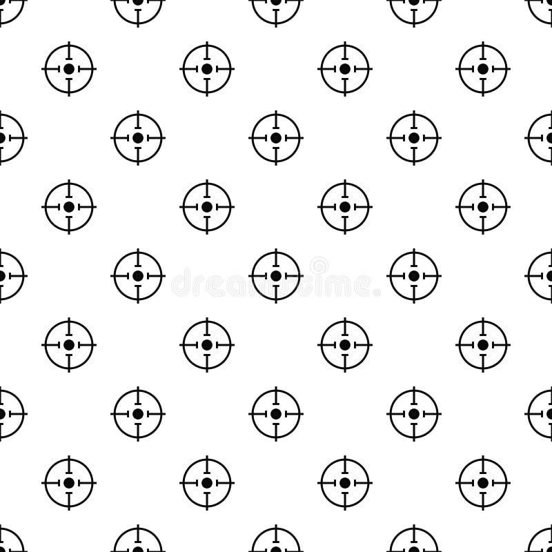 Vector inconsútil del modelo importante de la blanco libre illustration