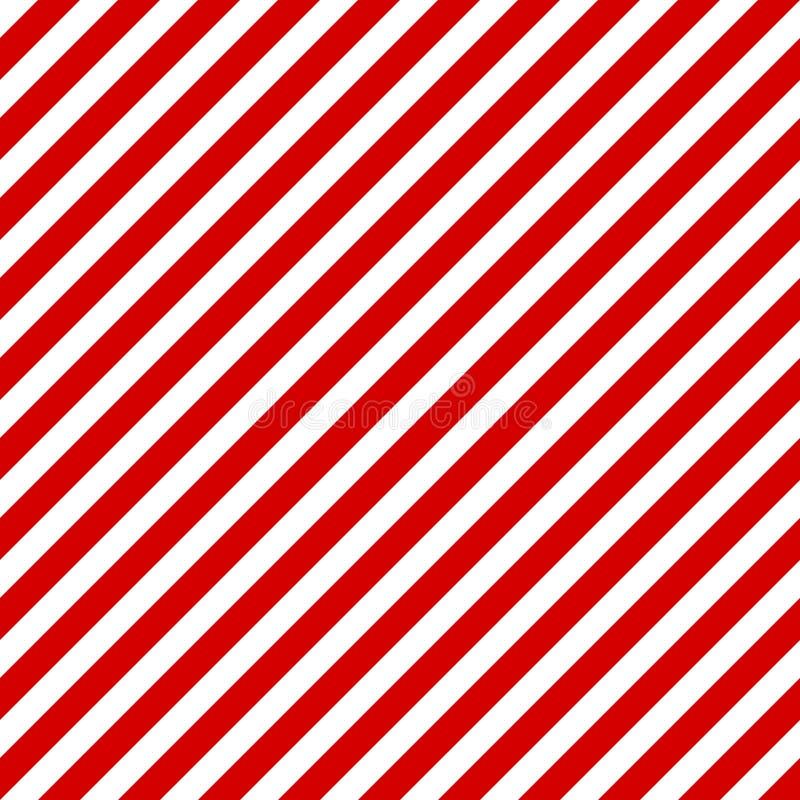 Vector inconsútil diagonal de las rayas blancas rojas libre illustration