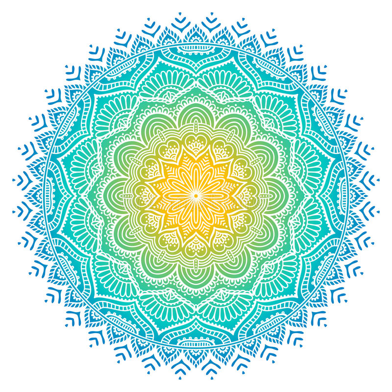 Free Vector Indian Mandala Stock Photography - 81524842