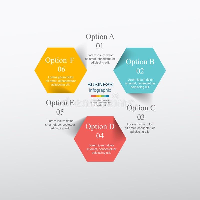 Vector infographic stock de ilustración