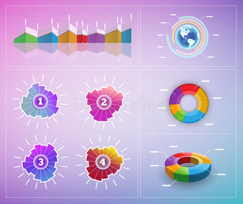 Download Vector Infographic Elements Stock Image - Image: 25403881