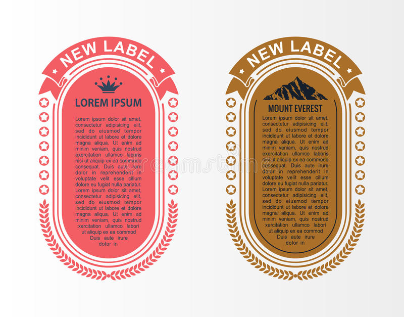 Vector infographic layout template set. Card parts, vertical banner with business icons and design elements vector illustration