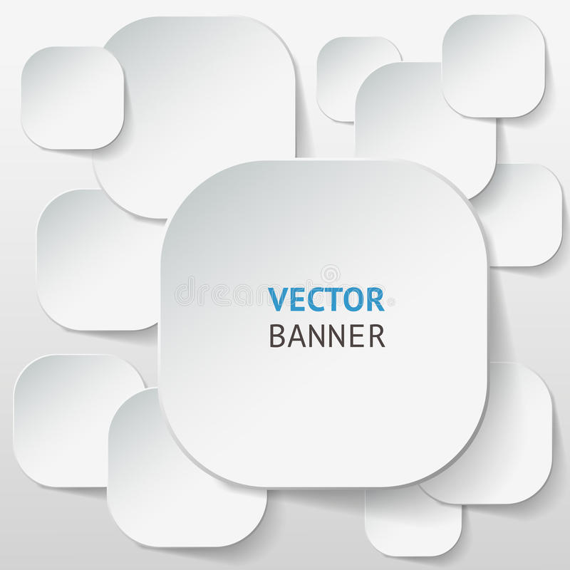 Vector infographic origami banners set. Vector infographic origami banners set for your print and web presentation, visualization and design royalty free illustration