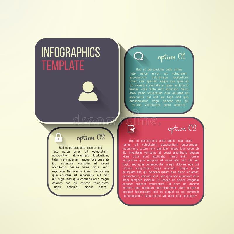 Vector infographic raad in modern vlak ontwerp vector illustratie
