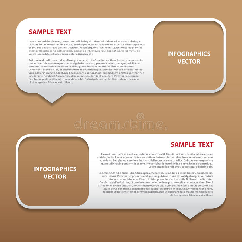 Download Vector Infographics Bubble Tag Stock Vector - Image: 43461628