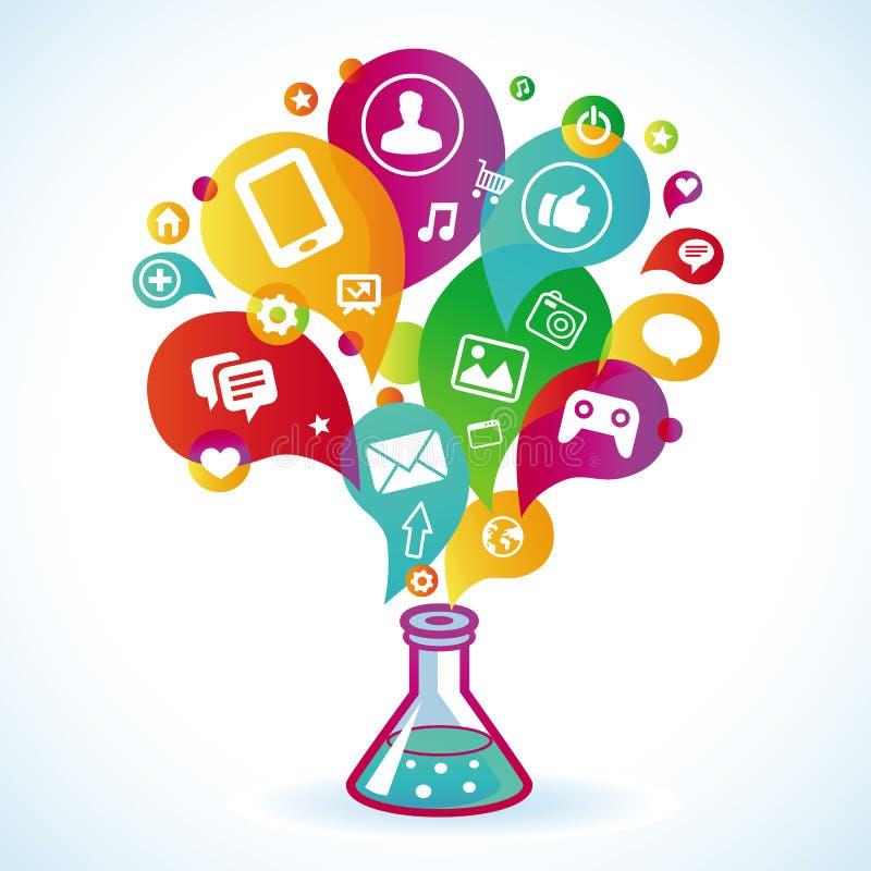 Download Vector Internet Marketing Concept Stock Vector - Illustration: 32288975