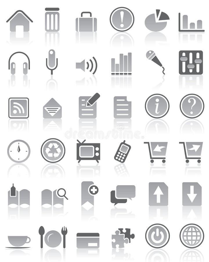VECTOR Internet / Web Icon set vector illustration