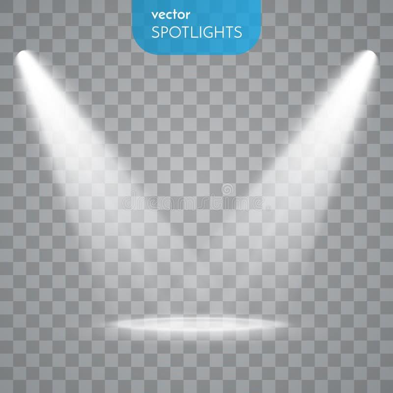 Free Vector Isolated Spotlight Royalty Free Stock Photography - 64640087