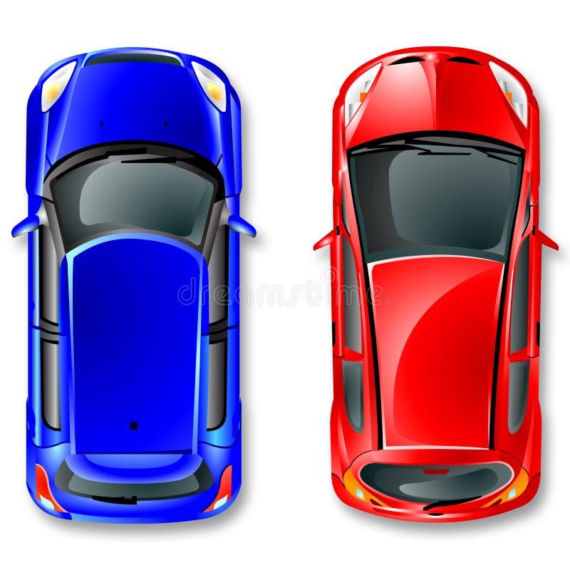 Vector japan cars. royalty free stock photos