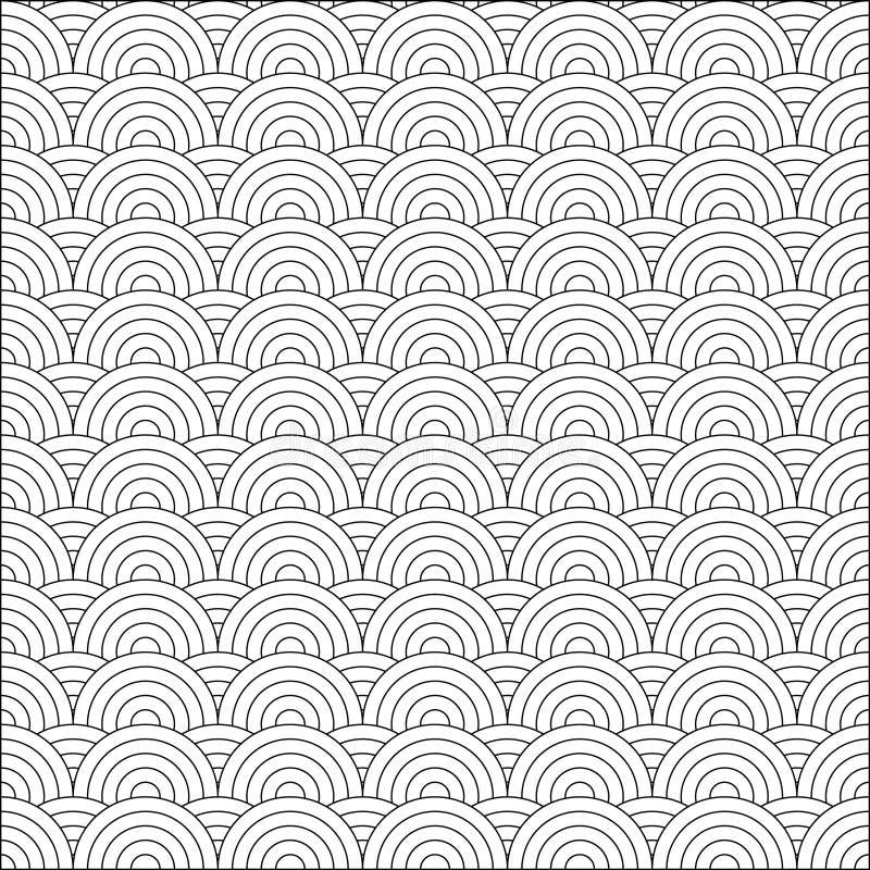 Vector Japans patroon royalty-vrije illustratie