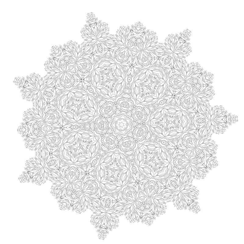 Vector kant royalty-vrije illustratie