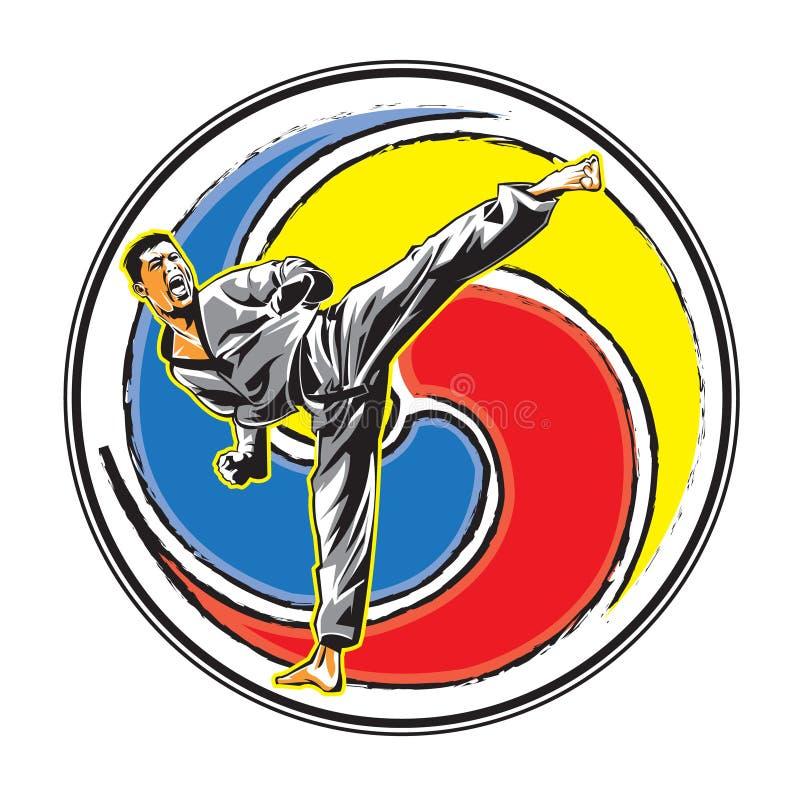 vector karate logo stock vector illustration of japan 70023105 rh dreamstime com karate logo shotokan karate logo hat
