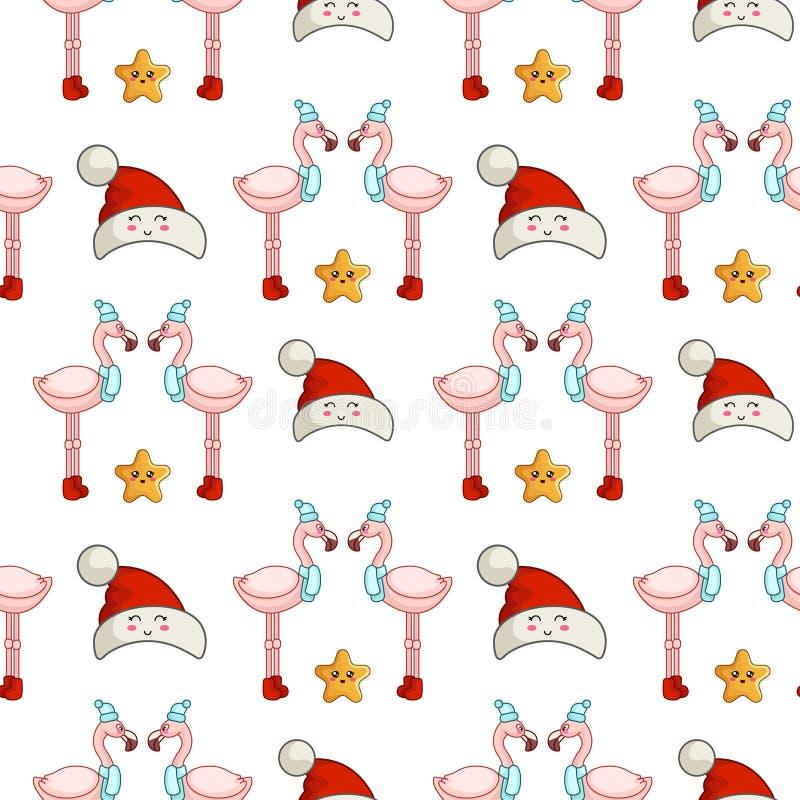Free Vector Kawaii Christmas Collection Stock Images - 161957274