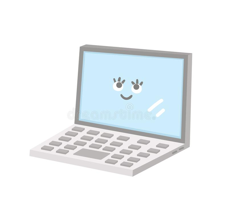 Using The Computer Clipart Funny