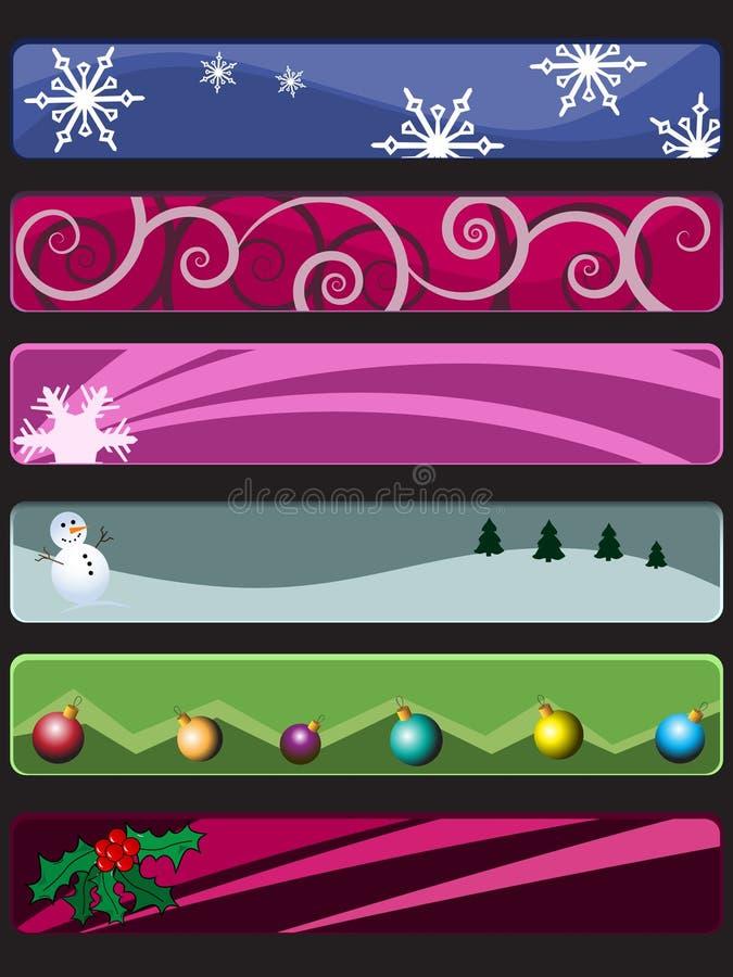 Vector Kerstmis stock illustratie