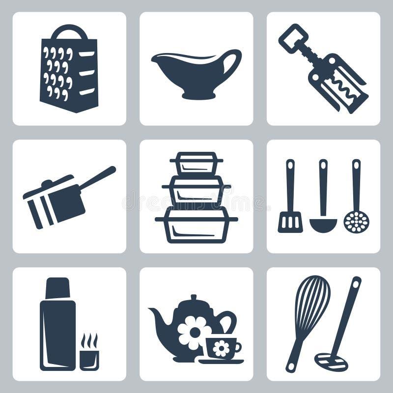 Free Vector Kitchenware Icons Set Stock Photo - 34987570