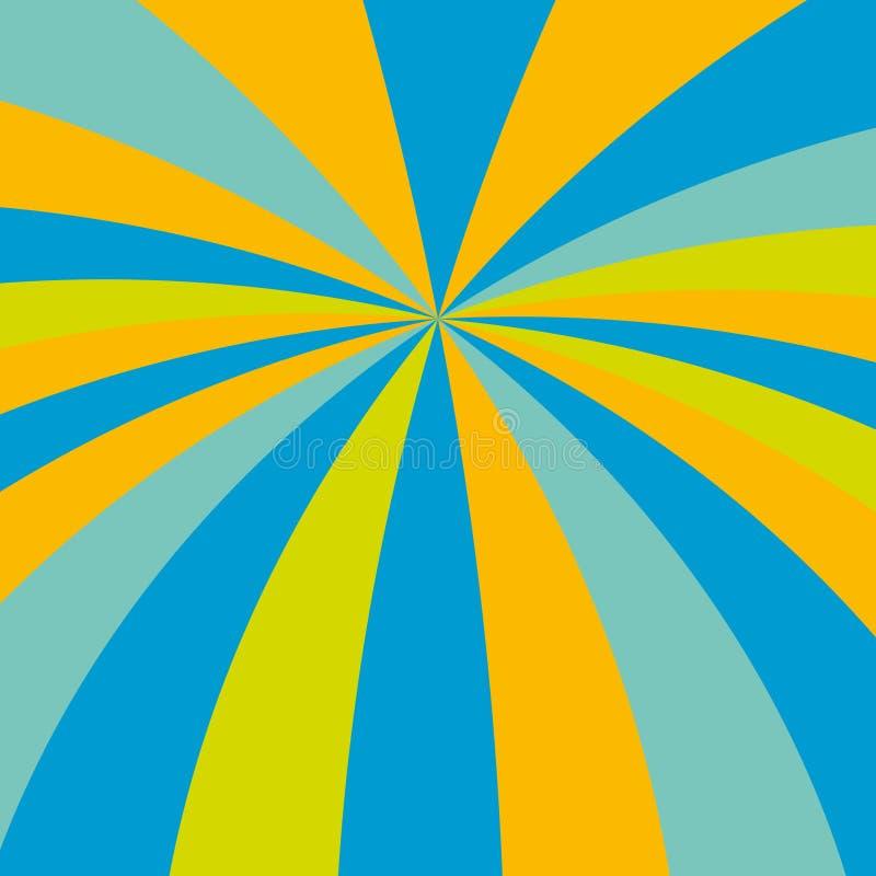 Vector kleuren stock illustratie