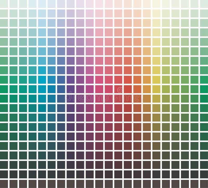 Vector kleurenbibliotheek royalty-vrije illustratie