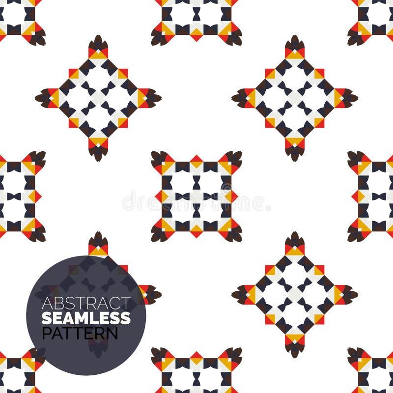Vector kleurrijk naadloos geometrisch patroon modern vector illustratie