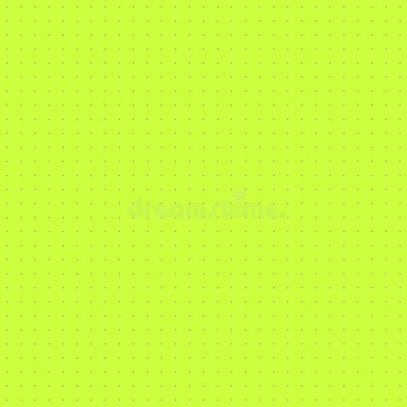 Vector Kleurrijk Naadloos Patroon, Eenvoudig Millimeterpapier, Vierkant Dots Background royalty-vrije illustratie
