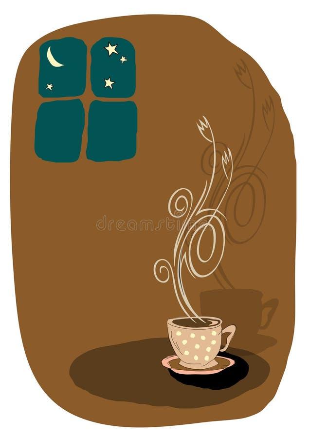 Vector koffieillustratie vector illustratie