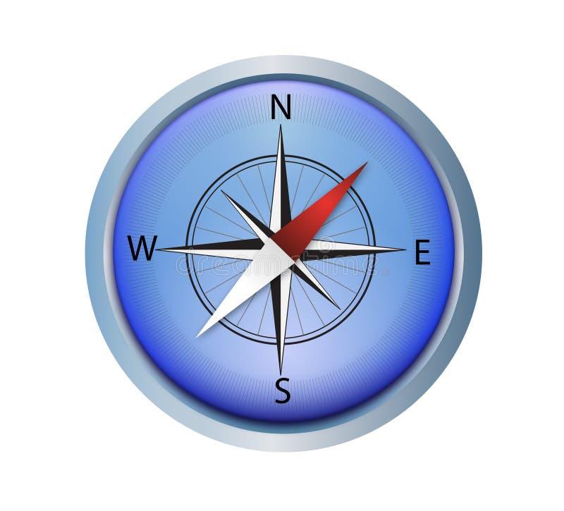 vector Kompas royalty-vrije illustratie