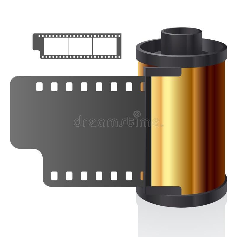 Vector la bobina di pellicola illustrazione vettoriale