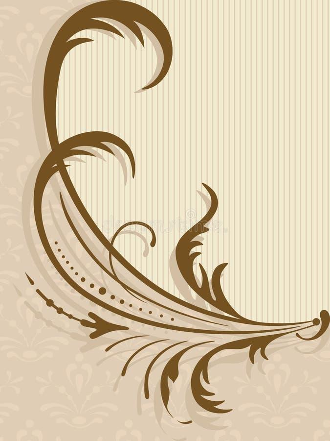 Vector la cartolina d'auguri. royalty illustrazione gratis