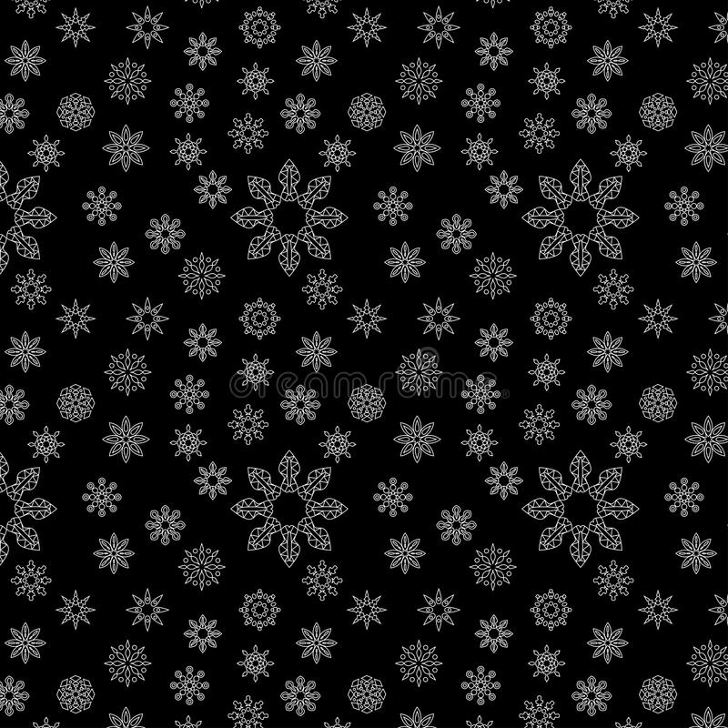 Vector la combinación inconsútil del modelo de estrella y de otra fotos de archivo