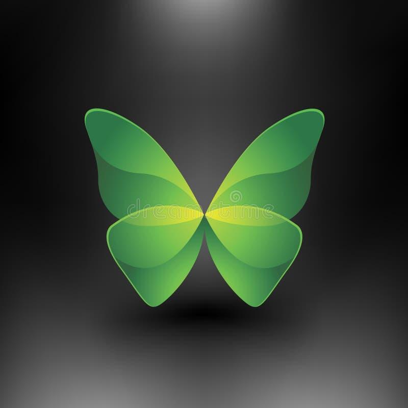 Vector la farfalla lucida royalty illustrazione gratis