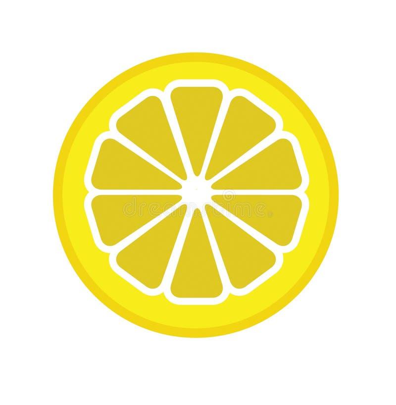 Vector la ilustración del segmento del limón libre illustration