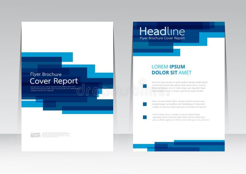 Vector la plantilla abstracta del cartel del informe de la cubierta de marco del diseño ilustración del vector