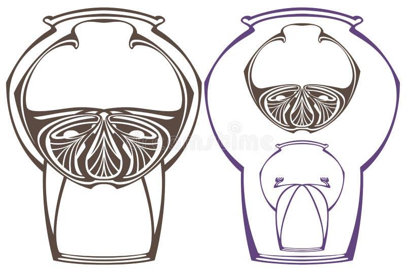 Download Vector La Struttura Astratta Dalle Linee E Dai Fiori Rilegati Illustrazione Vettoriale - Illustrazione di saluto, scheda: 55364218