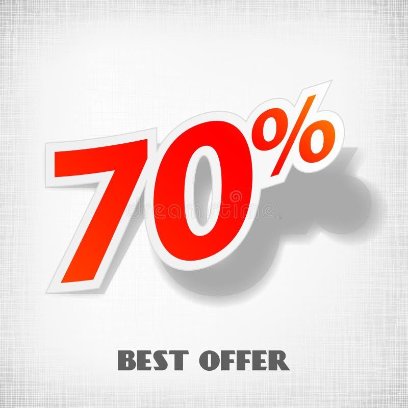 Download Vector label percent stock vector. Image of retail, lines - 26673659