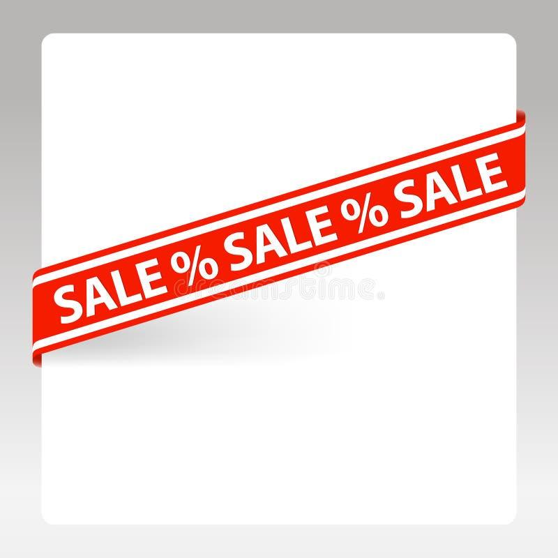 Vector Label Sale Stock Image