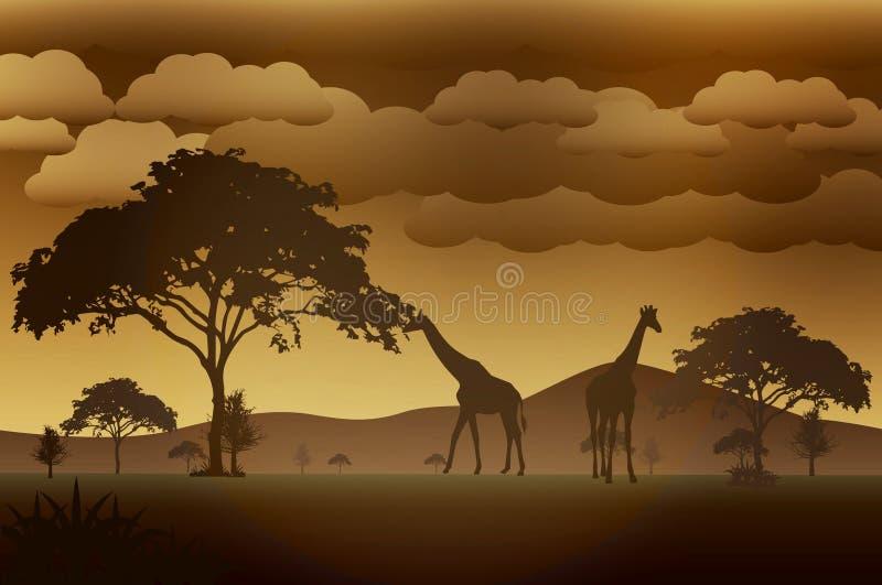 Vector_Landscape_01 lizenzfreies stockfoto
