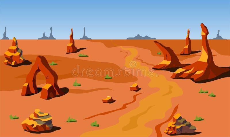 Vector landschap