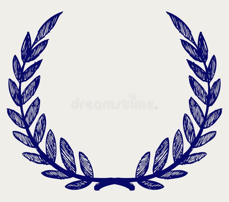 Vector Laurel Wreath Royalty Free Stock Photos