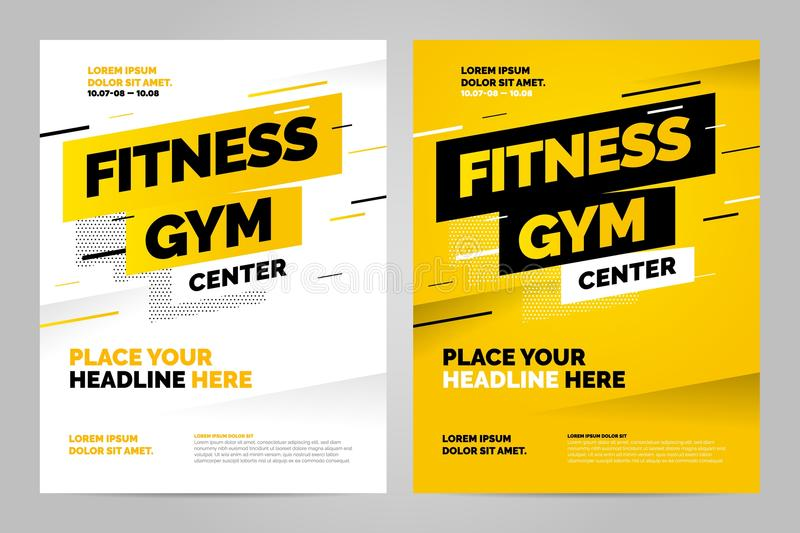 Vector layout design template for sport. Event