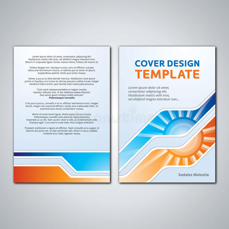 template cover book