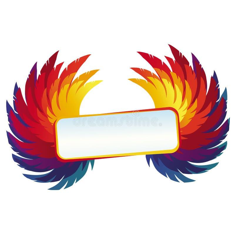 Download Vector Le Ali Con La Struttura Luminosa - Modello Dell'arcobaleno Illustrazione di Stock - Illustrazione di background, illustrazione: 30826637