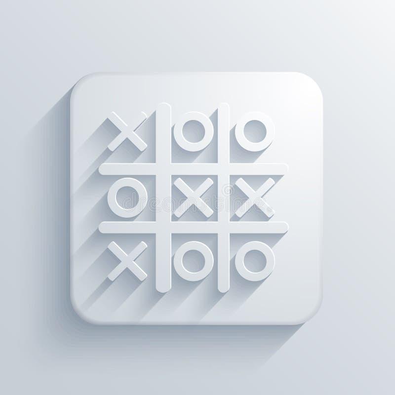 Vector licht vierkant pictogram. Eps10 vector illustratie