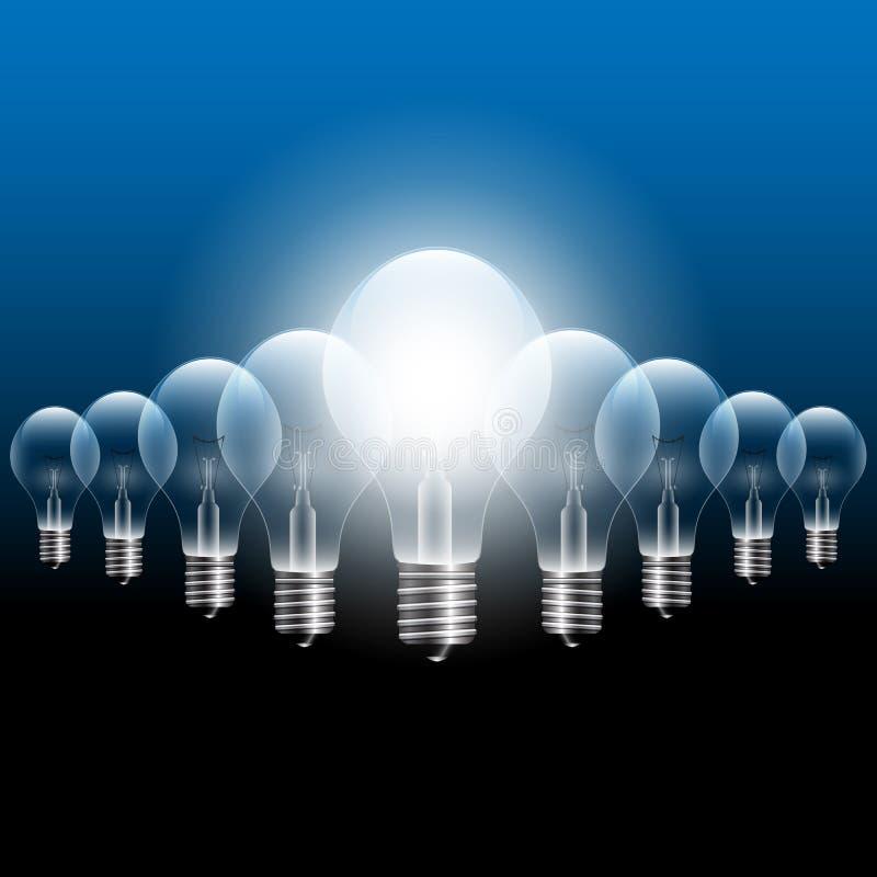 Vector Light Bulb stock photo