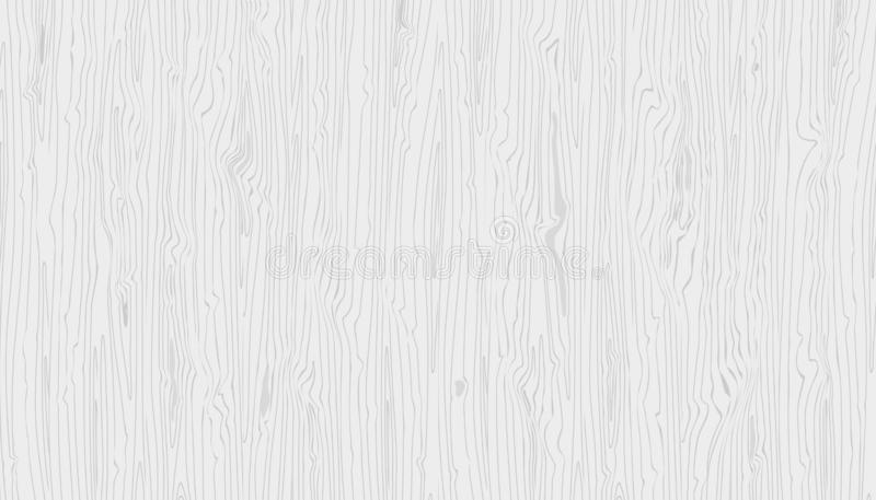 Vector light gray wooden texture. Hand drawn natural graun wood background royalty free illustration