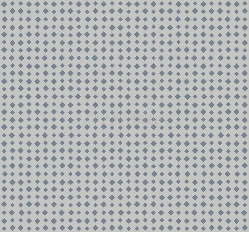 Vector lijnen van hoekig punten naadloos patroon vector illustratie